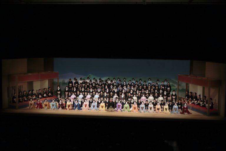 八花絢爛 (はっかけんらん)~東京、金沢、博多から京に集い、八花街が京で舞う~ 記録写真