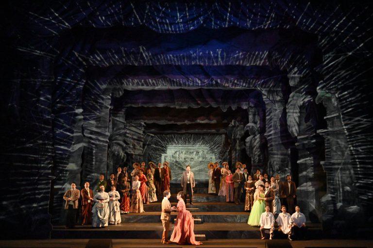 平成30年度 新国立劇場 高校生のためのオペラ鑑賞教室・関西公演「魔笛」 記録写真