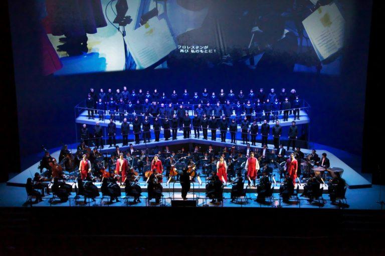 ロームシアター京都プロデュース・オペラ  「フィデリオ」セミステージ形式 記録写真