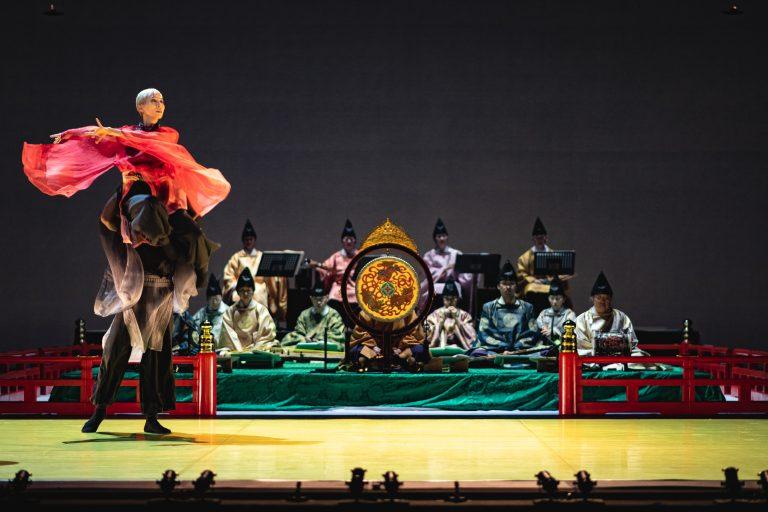 ロームシアター京都開館5周年記念事業 「雅楽 ~現代舞踊との出会い」記録写真