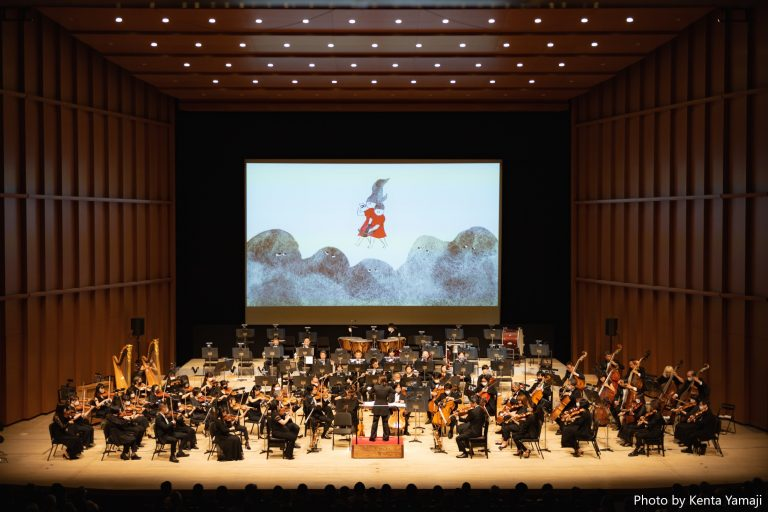 京都市交響楽団×藤野可織 オーケストラストーリーコンサート 「ねむらないひめたち」記録写真