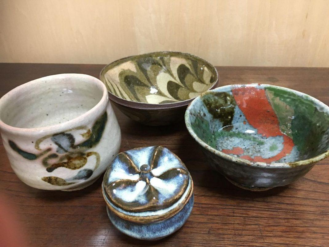河井寬次郎の茶碗でお茶をいただける、ってホント?!