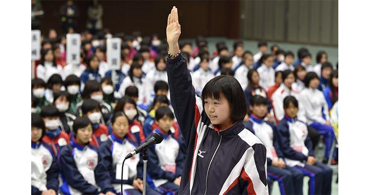 第35回全国都道府県対抗女子駅伝競走大会 開会式