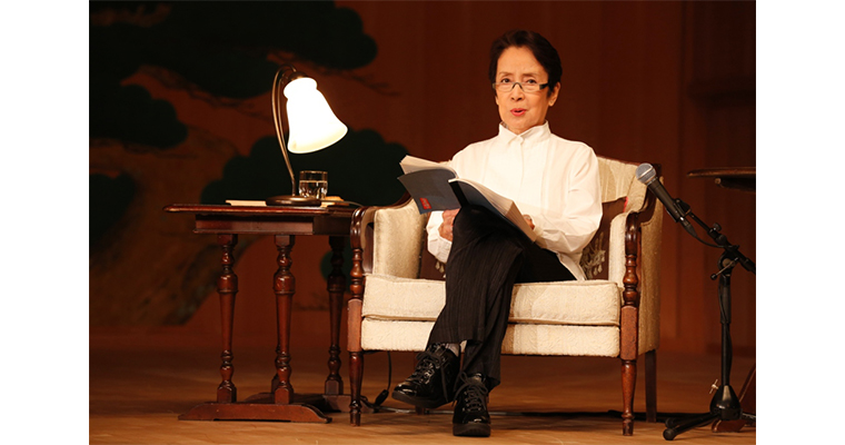奈良岡朋子朗読劇「黒い雨」ー八月六日広島にて、矢須子ー