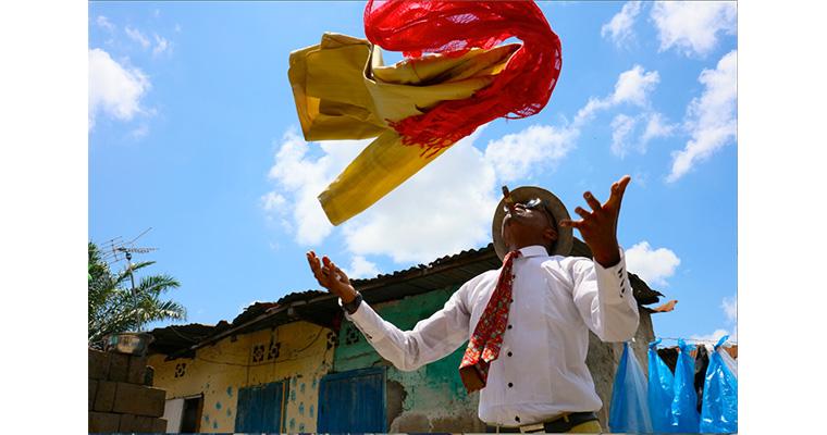 コンゴ共和国のおしゃれ紳士集団『SAPEUR(サプール)』によるトークショー・サイン会・撮影会